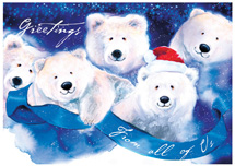 Jolly Bears Holiday Cards