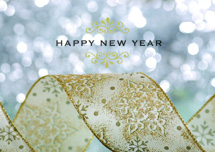 New Year Glitter Cards